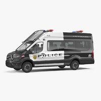 police transit 2020 3D