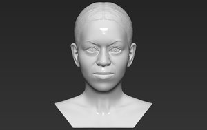 3D model michelle obama bust ready