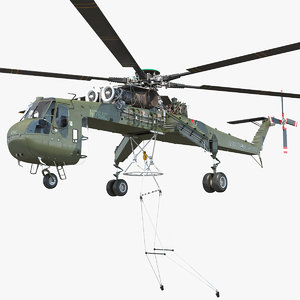 3D heavy lift helicopter sikorsky