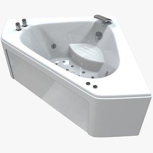 balneo bath 3D