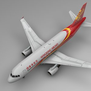 3D hong kong airlines airbus