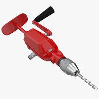 breast drill machine 3D model