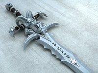The sword of Arthas