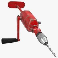 3D breast drill machine used model