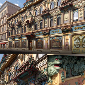 moscow architecture 3D model