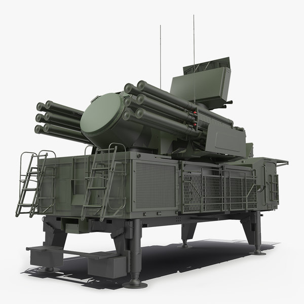 air defence pantsir s1 3D model