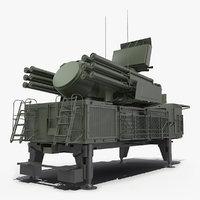 air defence pantsir s1 3D model