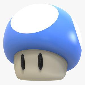 3D super mushroom mario kart