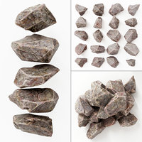 stone rock 3D