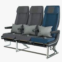 3D economy airplane seat singapore