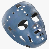 jim rutherford mask laying 3D