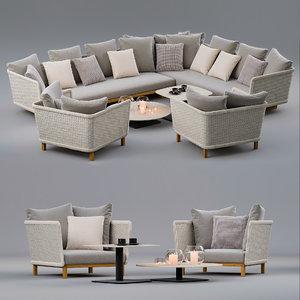 3D sofas sabi
