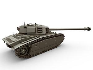 arl french tank 3D model
