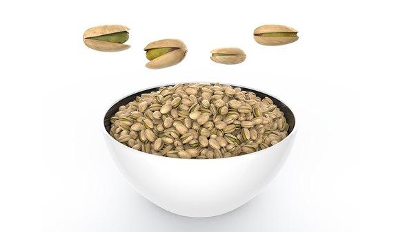 3D pistachio pista