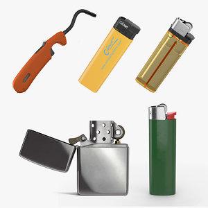 lighters 3 3D