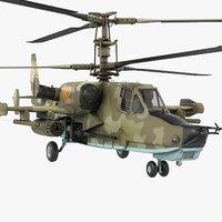 ka-50 soviet russian 3D