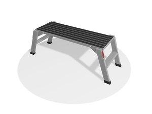 3D auto repair stepladder model