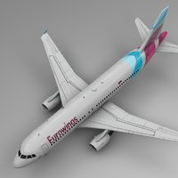 eurowings airbus a320 l488 3D