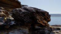 3D model scanned rock asset