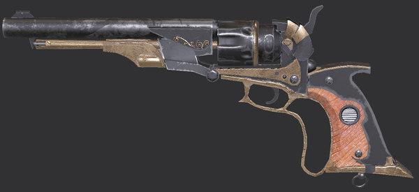 revolver westwood 3D model