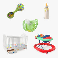 childcare products 2 child 3D model