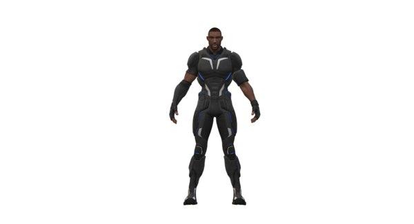 3D crackdown agent male
