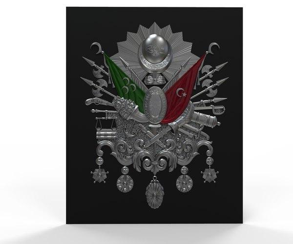 ottoman empire army 3D model