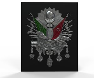 ottoman empire army 3D model