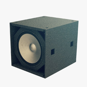 3D hd28 rs subwoofer model