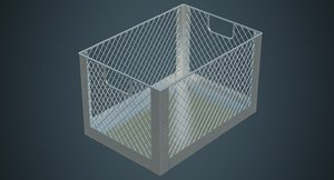 crate contains 2a 3D model