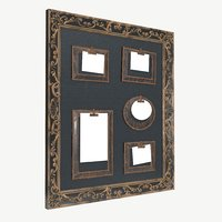 3D frame wall photo