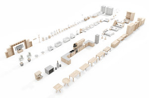 3D archipack topview kit volume 1