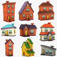 Cartoon House Collection