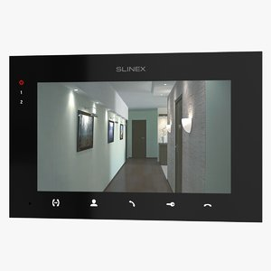 3D model realistic video intercom slinex
