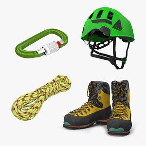 climbing equipment 3D
