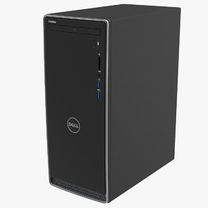 3D dell inspiron 3670 minitower model