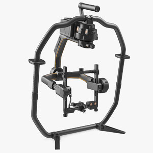 handheld camera stabilizer 3D model