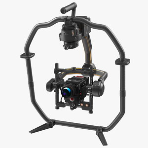 3D handheld camera stabilizer camcorder