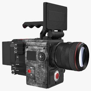 3D professional camcorder generic cam