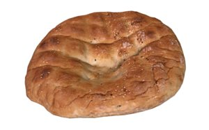 3D turkish bread pita