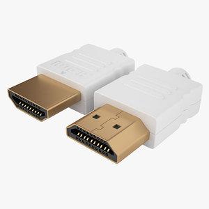 3D hdmi port model