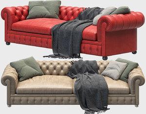chester sofas 3D model