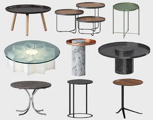 coffee table sets b 3D model