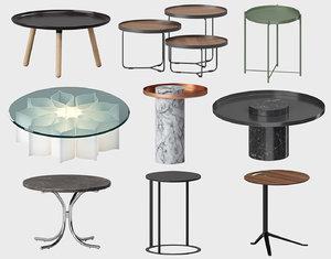 coffee table sets b 3D model
