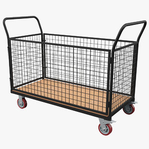 cage trolley 3D model