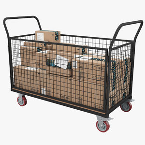 3D cage trolley