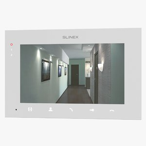 3D realistic video intercom slinex model