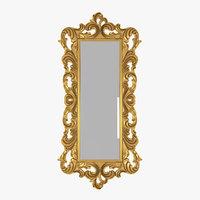 Baroque Carved Mirror