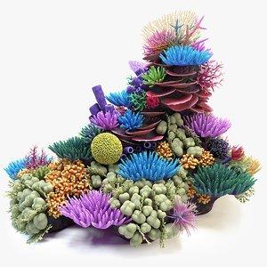 3D coral reef 02