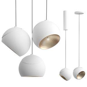 3D modular lighting instruments marbul model
